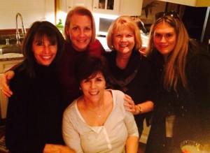 Libby, Louise, Jackie, Jackie and Teresa