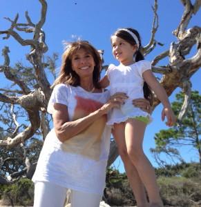 Nonna Libby and granddaughter Iysa