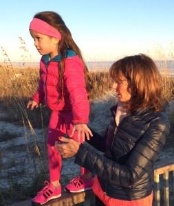 Granddaughter Iysa and Nonna