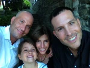 Son Jeremy, Granddaughter Iysa, Libby, son Jeff